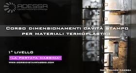Corsi di stampaggio ad iniezione per materiali termoplastici - Portata massima tir ...